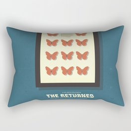 The Returned, french tv series, minimalist, alternative poster, Canal+ Rectangular Pillow