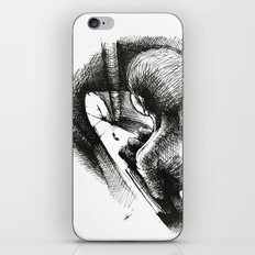 God Always Look At You From Top! iPhone & iPod Skin