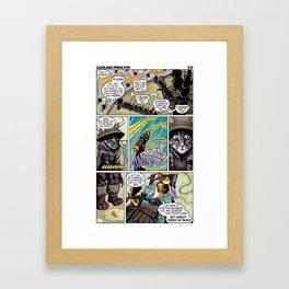Cathair Apocalypse 01-07 Framed Art Print