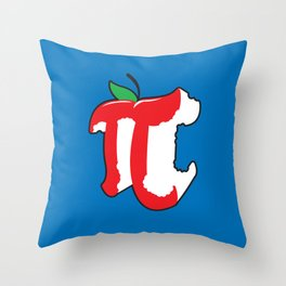 Apple Pi Throw Pillow