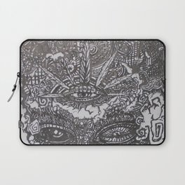 Spiritually Smoking Laptop Sleeve