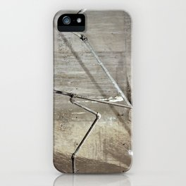 basement pipes iPhone Case