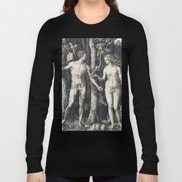 Albrecht Dürer Adam and Eve Long Sleeve T-shirt