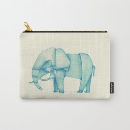 Paper Elephant Carry-All Pouch