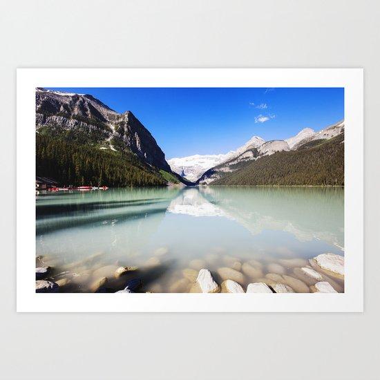 Lake Louise in Alberta, Canada Art Print