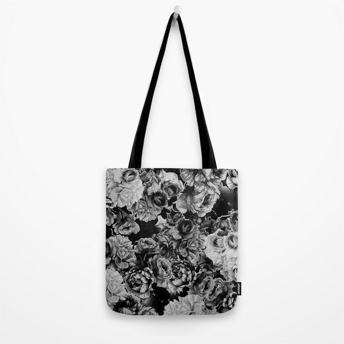 Black Roses Tote Bag