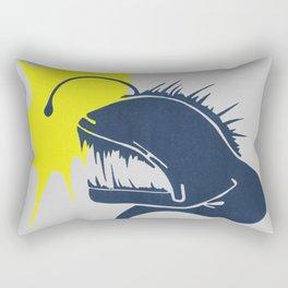 Angler Fish Rectangular Pillow