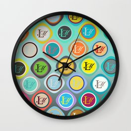monogram Wall Clock