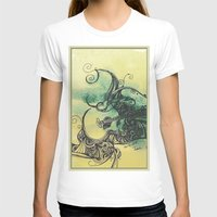 guitar T-shirts featuring guitar by Joanne Chen