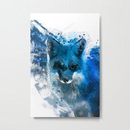 Arctic Fox #fox Metal Print