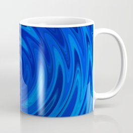 Water Moon Cobalt Swirl Coffee Mug