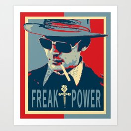 HST- Freak Power Art Print