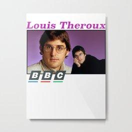 Louis Theroux BBC Metal Print