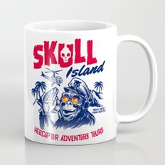 Skull Island Helicopter Adventure Tours Mug