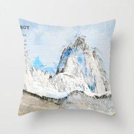 Fitz Roy, Patagonia South America Throw Pillow