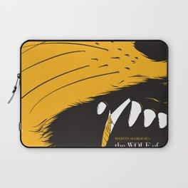 The Wolf of Wall Street | Fan Poster Design Laptop Sleeve