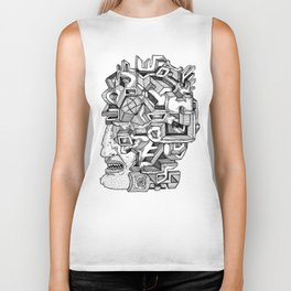 Keep an Open Mind Biker Tank