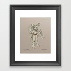 Subject 43 Framed Art Print