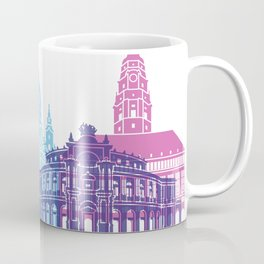 Dresden skyline pop Coffee Mug