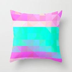 Pink Natures Throw Pillow