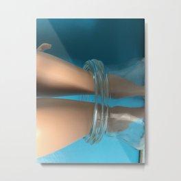Glasstrap Metal Print