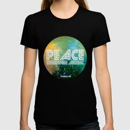 Peace Through Music T-shirt