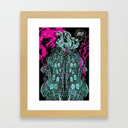 MAKINAH Framed Art Print