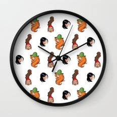 Vicky, Karine et Jenny Wall Clock