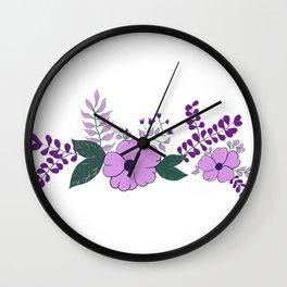 Flower Crown - LBC Wall Clock