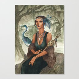 Arthemie ~ A Compendium Of Witches Canvas Print
