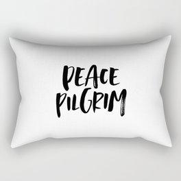 Peace Pilgrim Rectangular Pillow
