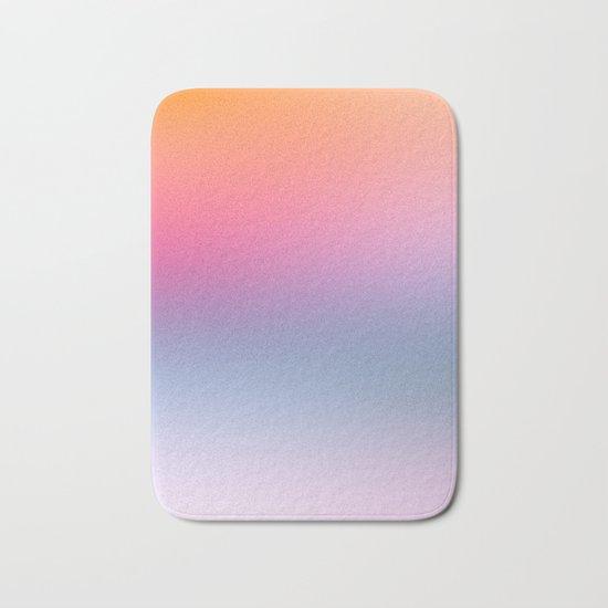 Rainbow Blush Bath Mat