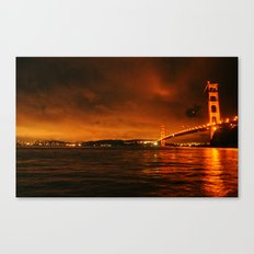 gg bridge Canvas Print