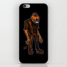 Autumn People 4 iPhone & iPod Skin