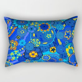Birthday Flowers Rectangular Pillow