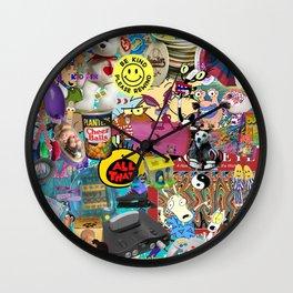 90s Favorites Wall Clock
