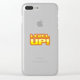 Level up Clear iPhone Case