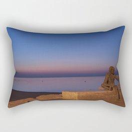 Anis del mono Rectangular Pillow