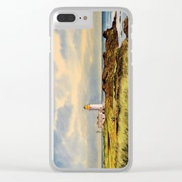 Turnberry Golf Course Scotland 9th Tee Clear iPhone Case