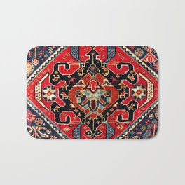 Qashqa'i Antique Fars Persian Bag Face Bath Mat