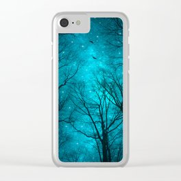 Stars Can't Shine Without Darkness Clear iPhone Case