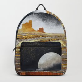Metallic Desert Backpack