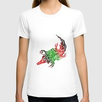 crocodile T-shirts featuring Crocodile by SvetIu