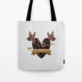 Rise & Slay Tote Bag