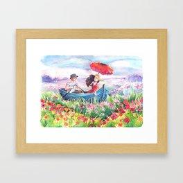 Fields of Love Framed Art Print