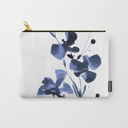 Organic Impressions 334w by Kathy Morton Stanion Carry-All Pouch