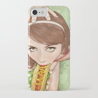 movies iPhone & iPod Cases featuring Life's a Picnic, Bring Your Friend by keith p. rein