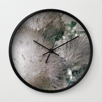 furry Wall Clocks featuring Furry Crystal  by POPCORE