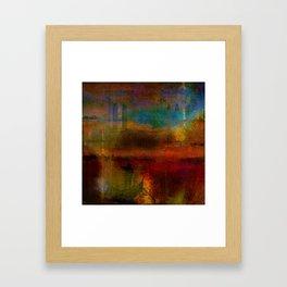 The return of the gondolier Framed Art Print