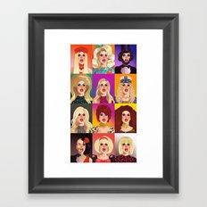 Katya Zamolodchikova T-Shirt  Framed Art Print